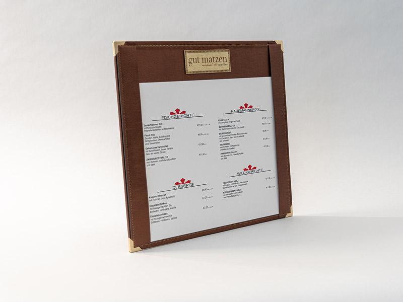 menuboards in verschiedenen formaten